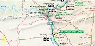 Wv Map Map Harper U0027s Ferry Wv Onedayhike Org