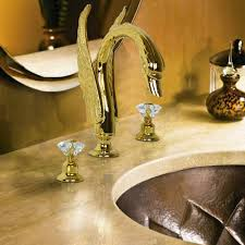 elegant and classic look with brass bathroom faucets