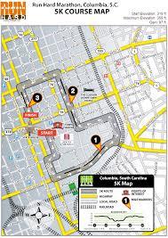Columbia Sc Map Fil A 5k
