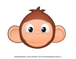 baby monkey clip art black and white free cliparting com