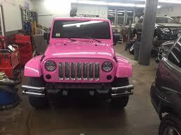 breast cancer month auto body paint job automotive specialties inc