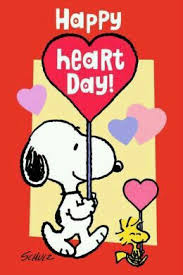 snoopy valentines day happy heart day happy heart snoopy and