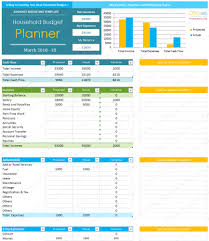 excel budget summary template