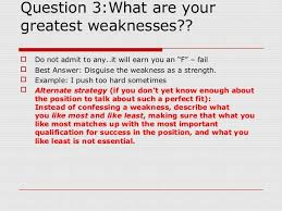 what are your weaknesses interview questions and best answers