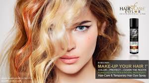 Hair Color Spray For Roots Unique U0026 Unstoppable Make Up For Your Hair By Hair Flash Color