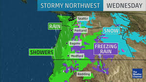 Seattle Weather Map by Video More Rain And Snow For The Northwest