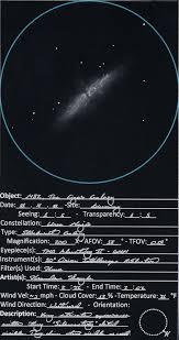 brandon doyle sketches starburst galaxy m82 astronomy magazine