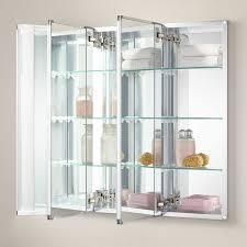 Longview Recessed Mount Medicine Cabinet Bathroom - Recessed medicine cabinet rough opening