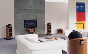 Living Room Wall Designs To Put Lcd Captivating Living Room Setup Design With Wall Mounted Large
