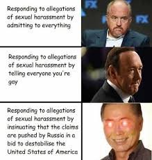 Sexual Harrassment Meme - dopl3r com memes fx responding to allegations of sexual