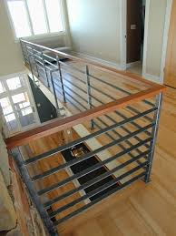 Modern Stair Handrails Contempoary Stair Railing Modern Staircase Milwaukee By