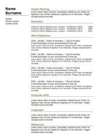 sle resume for teachers india doc resume sle doc india 28 images best resume formats for