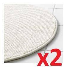 Ikea Bathroom Rugs 2x Ikea Badaren Non Slip Microfibre Bath Mat Bathmat