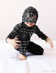 spiderman mask halloween boy black spiderman costume halloween costume for kids role play