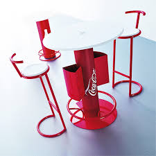 Coca Cola Chairs Tables And Chairs Keycompany Visual Advertising Reklama I
