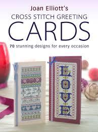 f w media david and charles books cross stitch greeting cards