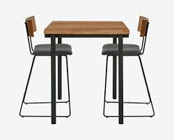 Square Bar Table Karsten Square Bar Table Scandinavian Designs