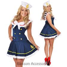 halloween sailor costume f96 navy sailor uniform ladies rockabilly pin up fancy dress