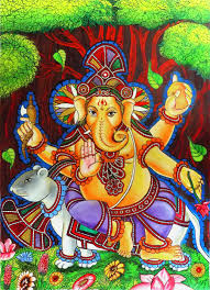 Mural Painting On Canvas by Ganapathy Mural Asp Designs Canvas