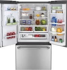 Stainless Steel Refrigerator French Door Bottom Freezer - 18 best ge kitchen appliances images on pinterest kitchen