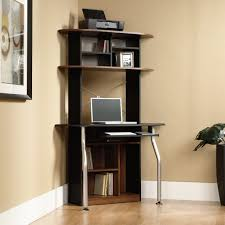 compact office cabinet and hutch place a corner desk with hutch and a wing in a room