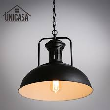 Wrought Iron Island Lighting Wrought Iron Industrial Pendant Ceiling L Vintage Black Metal
