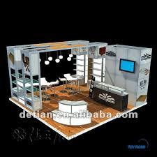 Exhibition Reception Desk Trade Show Display With Reception Desk For Exhibition Stall Design