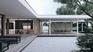 Home Courtyards An Amazing Cantilever Home With Brilliantly Integrated Courtyards