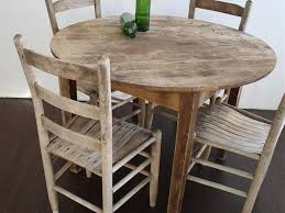 distressed round dining table exclusive ideas round distressed dining table all room pertaining to
