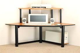 Piranha Corner Computer Desk Compact Corner Computer Desk Units Oak With Storage Small Home