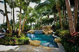 Backyard Pool Landscape Ideas Spectacular Tropical Pool Landscaping Ideas