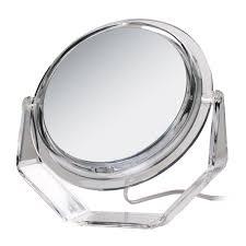 Lighted Vanity Mirrors Amazon Com Zadro 5x Swivel Base Lighted Vanity Mirror Personal