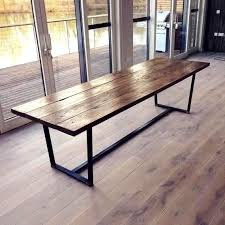 repurposed dining table metal topped dining table home décor interior decoration