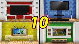 Modern Day Houses by 10 Tv Designs To Improve Your House In Minecraft How To Build