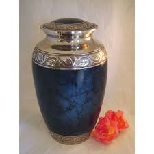 funeral urns for ashes urns for ashes mystic blue cremation urn