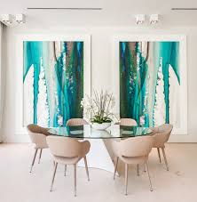 pop art wallpaper dining room contemporary with luxury wooden