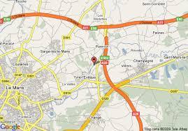 map of le mans le mans map