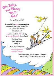 oh the places you ll go baby shower dr seuss baby shower invitation oh baby the places you ll go