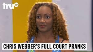 name of chris webber s haircut chris webber s full court pranks hope solo s hands trutv youtube