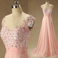 simple dresses blush pink prom dresses a line prom dress lace prom dress simple