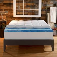 4 inch dual layer mattress topper sleep innovations