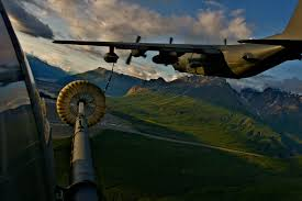 Alaska Flag Meaning Kc 130 Re Fueling An Hh 60 Pave Hawk Over Alaska As Part Of The