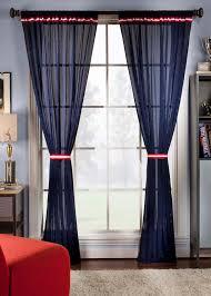 varsity semi sheer curtains football theme curtains by saturday