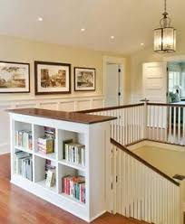 Bookshelves Glass Doors by Book Shelf At Top Of Stairs Bookshelf Bannister Great Idea For