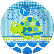 1st birthday boy turtle 1st birthday boy lunch plates kids birthday