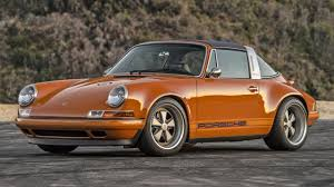 Porsche 911 Orange - the latest porsche 911s reimagined by singer are lovely top gear