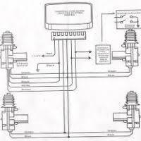 wiring diagram central lock yondo tech