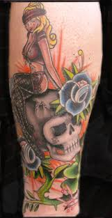 transcend gallery tattoos part calf traditional