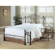 Fleur De Lis Headboard Beckley Queen Iron Bed By Coaster Coaster Headboard