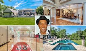 celebrity home gyms you could rent scottie pippen s house and home gym preview chicago
